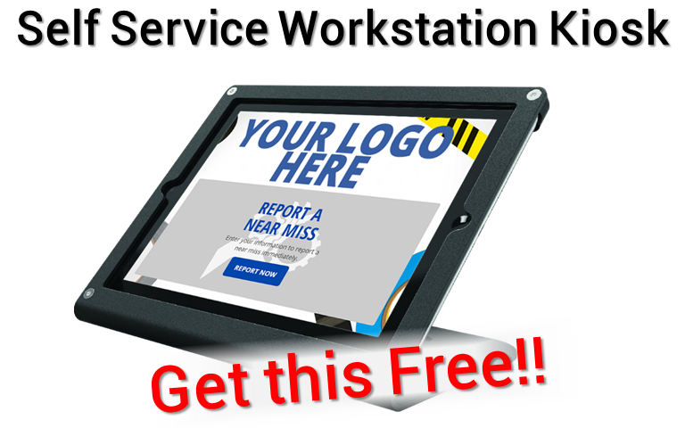 Free workstation kiosk with the purchase of any Check In kiosk for a limited time!